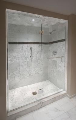 Walk in shower luxury hotel punta gorda