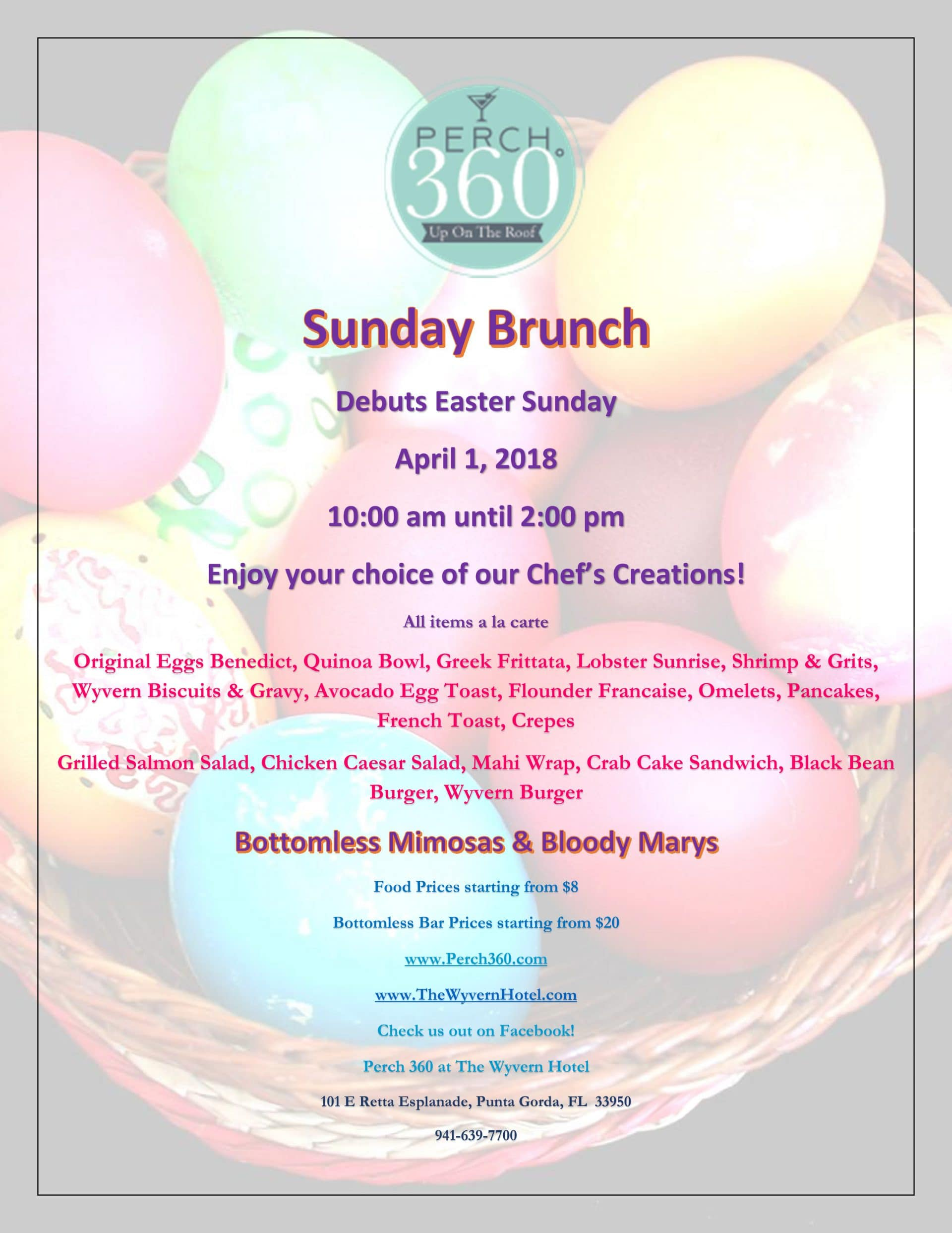 Sunday Brunch Easter