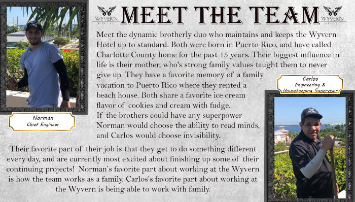Meet the team - Norman and Carlos