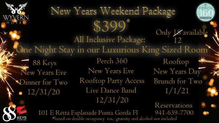 new years eve weekend package