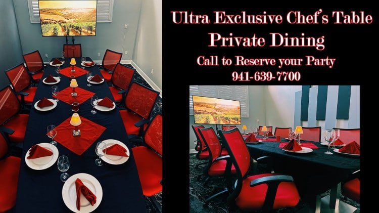 ultra exclusive chefs table