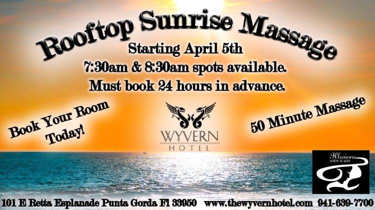 Rooftop Sunrise Massage