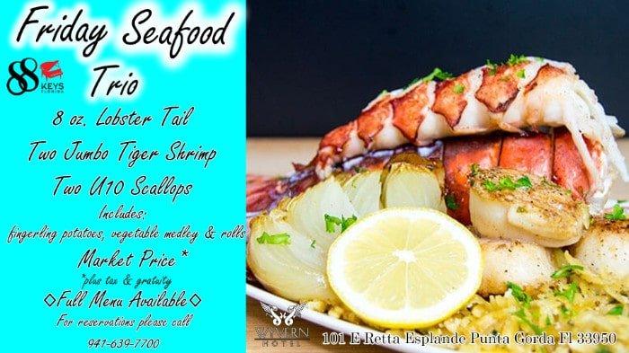 friday Seafood tri